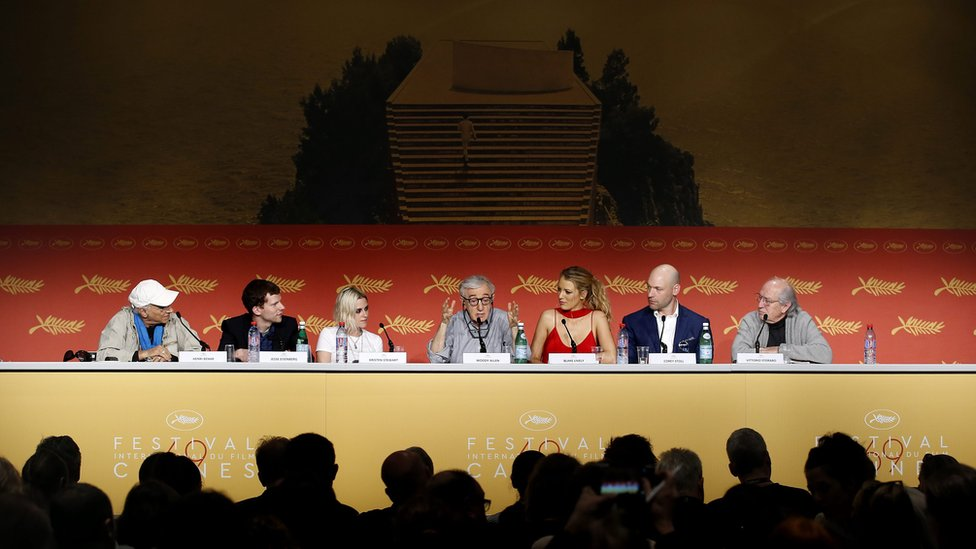 Cafe Society cast and director