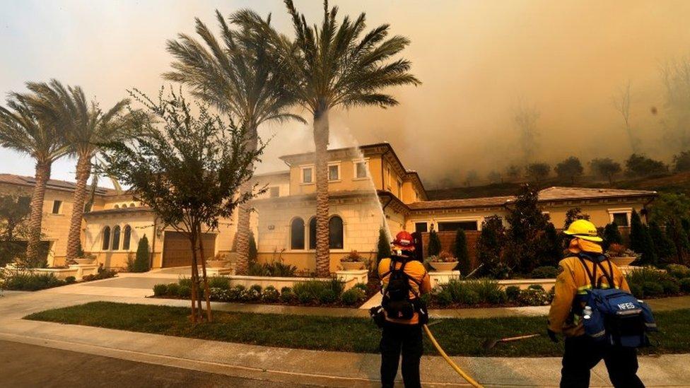 SILVERADO FIRE: Map, evacuation centers, road closures for Southern California wildfire