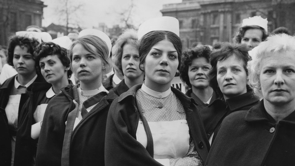 Nurses in 1962