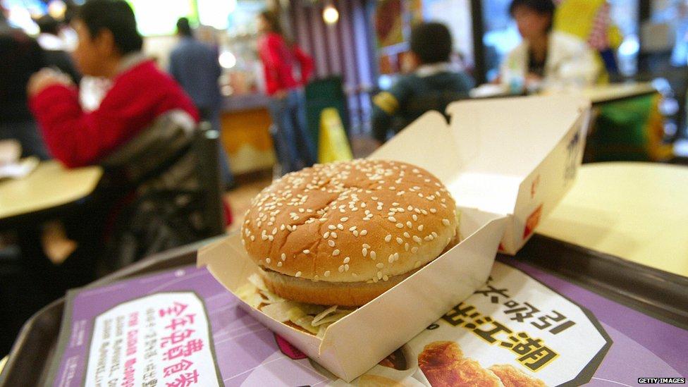 A Big Mac in Hong Kong