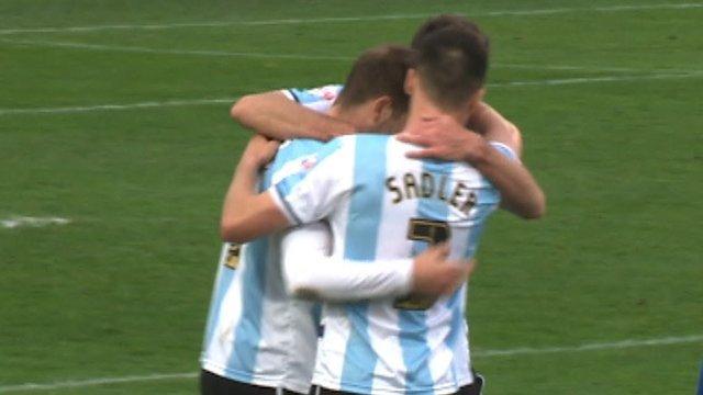 Gainsborough 0-1 Shrewsbury (Collins 71')