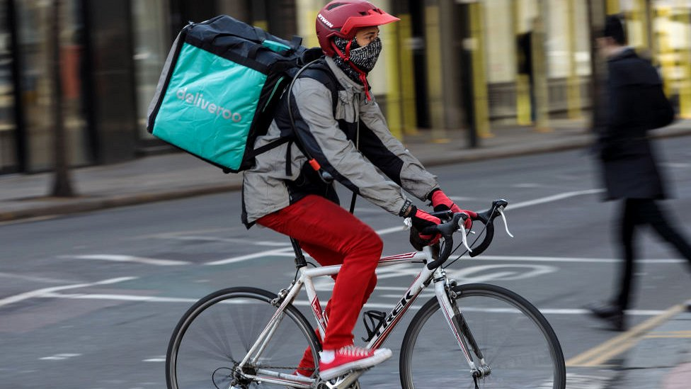 Courier for Deliveroo