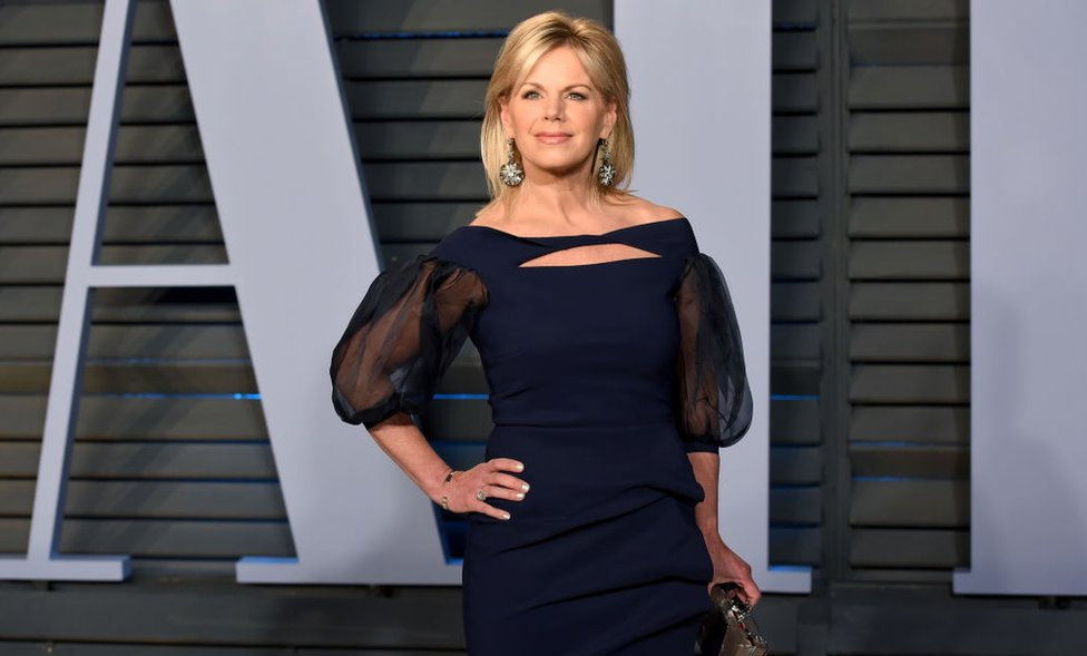 Gretchen Carlson attends the 2018 Vanity Fair party after the Academy Awards