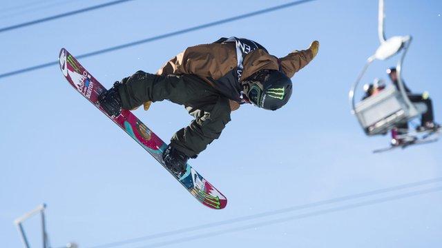 Japanese snowboarder Ayumo Hirano