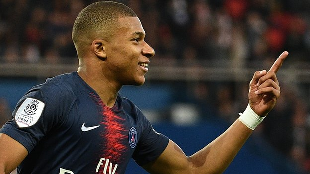 Mbappe scores again as PSG win 10th Ligue 1 game in a row