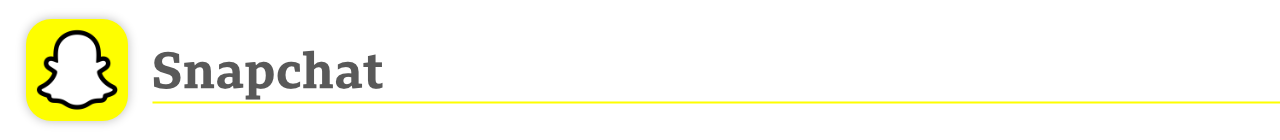 Logotipo do Snapchat