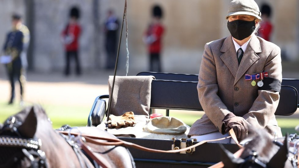 The Duke of Edinburgh's favourite driving carriage