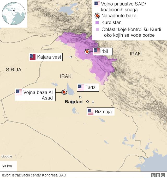 Američke snage u Iraku