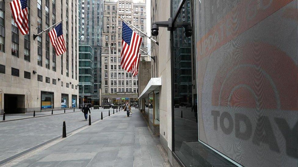 Calle en Estados Unidos.