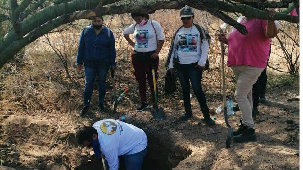 Colectivo Buscadoras por la Paz de Sonora.