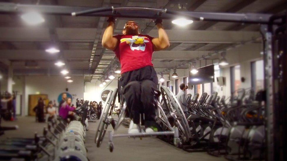 Paraplegic personal trainer wants more inclusive gyms