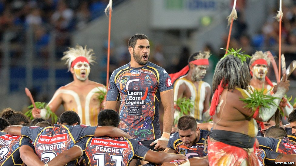 Greg Inglis Indigenous All Stars Gold Coast