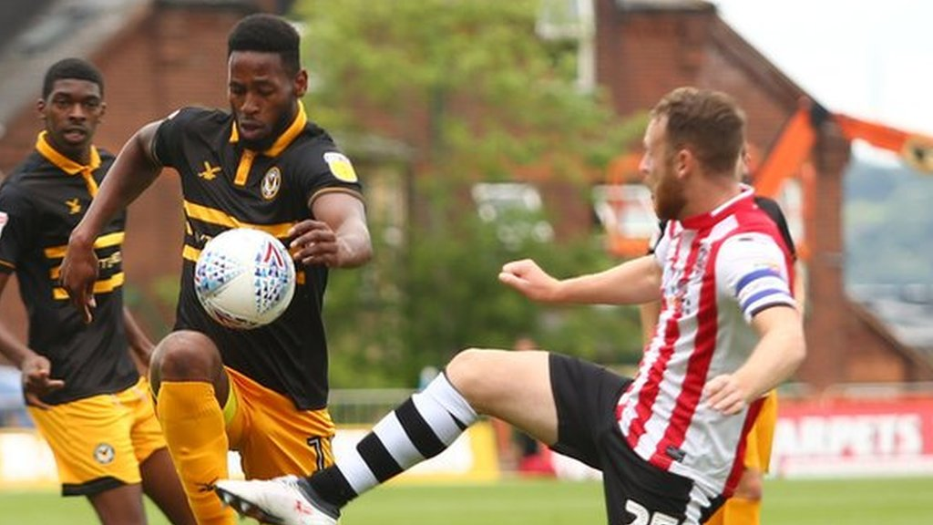 Exeter City 1-1 Newport County