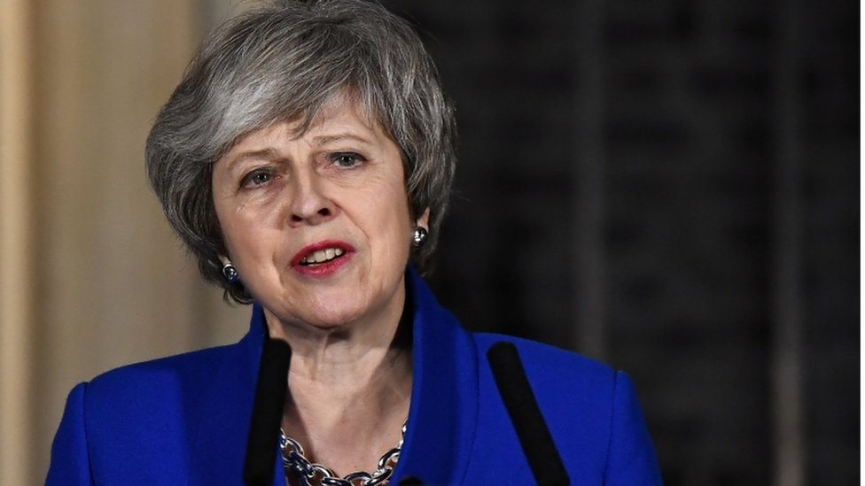 Theresa May urges Jeremy Corbyn: Let's talk Brexit