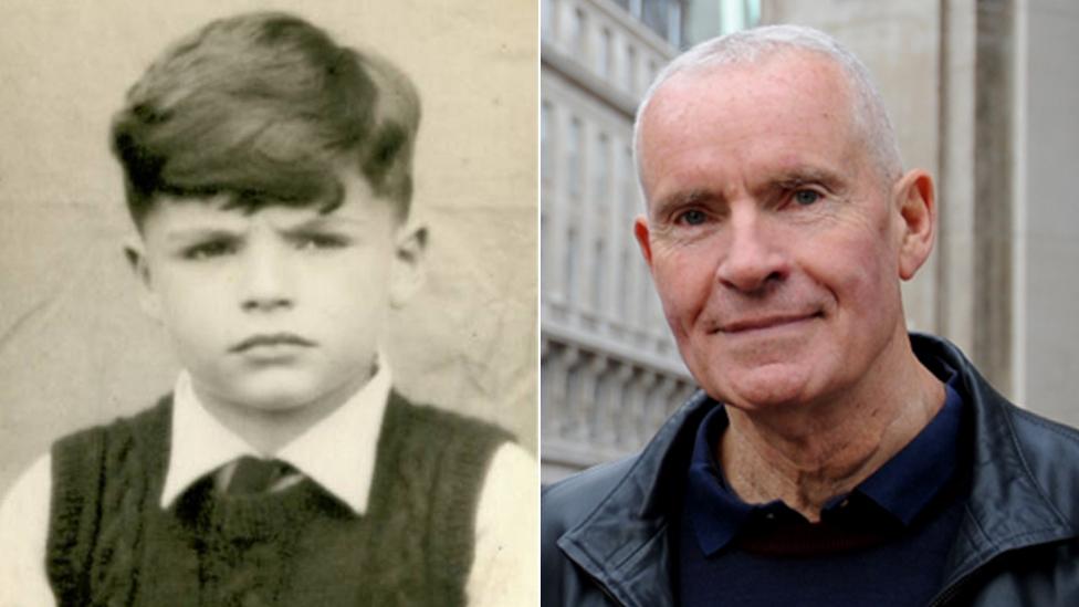 Robin King kao dečak i danas