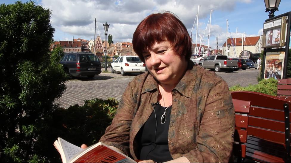 Krystyna Wroblewska en Gdansk