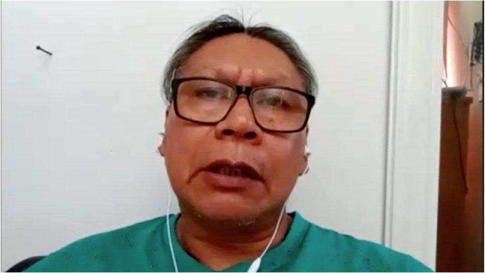 Pastor Henrique Terena diz que pessoas influenciando indígenas a não tomarem a vacina apenas se dizem pastores evangélicos