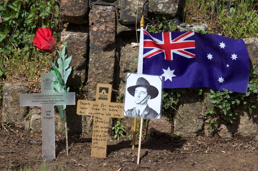 Memorial at Flanders