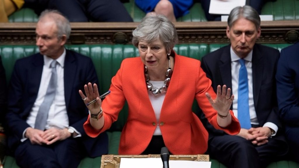 Brexit vote round two: How May lost… again
