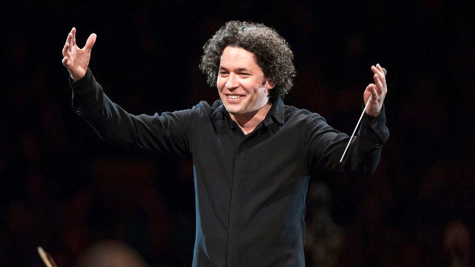 Gustavo Dudamel in Vienna in 2017