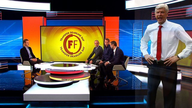 Dan Walker, Danny Murphy, Henry Winter and Martin Keown discuss Arsenal on transfer deadline day
