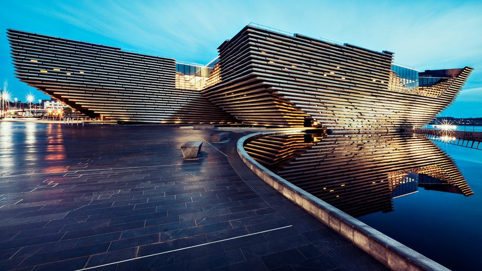 'Dynamic' Dundee picked as must-see destination