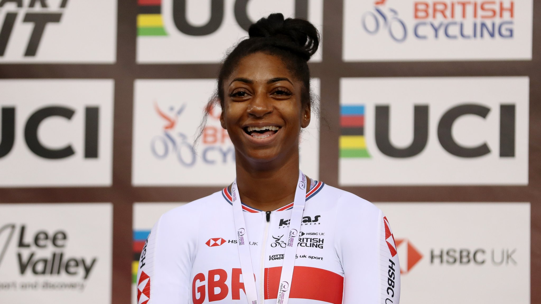 Kadeena Cox: Rio champion named in GB team for Para-cycling Track Worlds