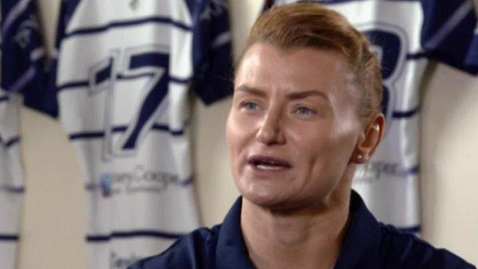 Rachel Taylor: Meet the former Wales women player coaching a Welsh men's team