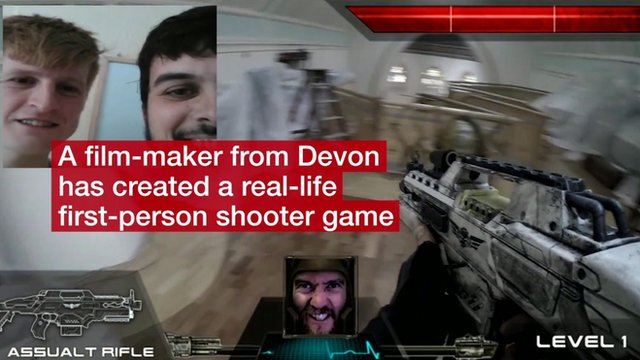 A real-life video game