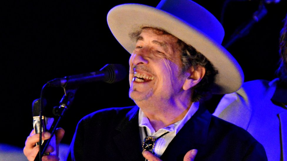 BBC News - Bob Dylan finally delivers his Nobel lecture