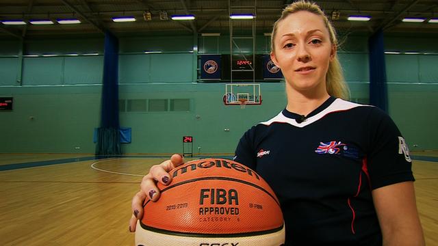 Great Britain women's wheelchair basketball captain Sophie Carrigill
