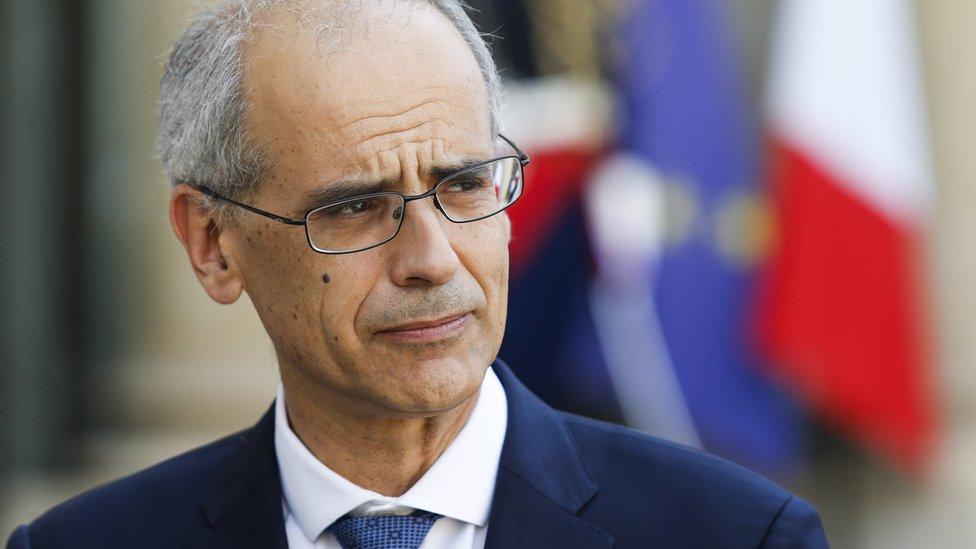 Andorra's head of government Antoni Marti
