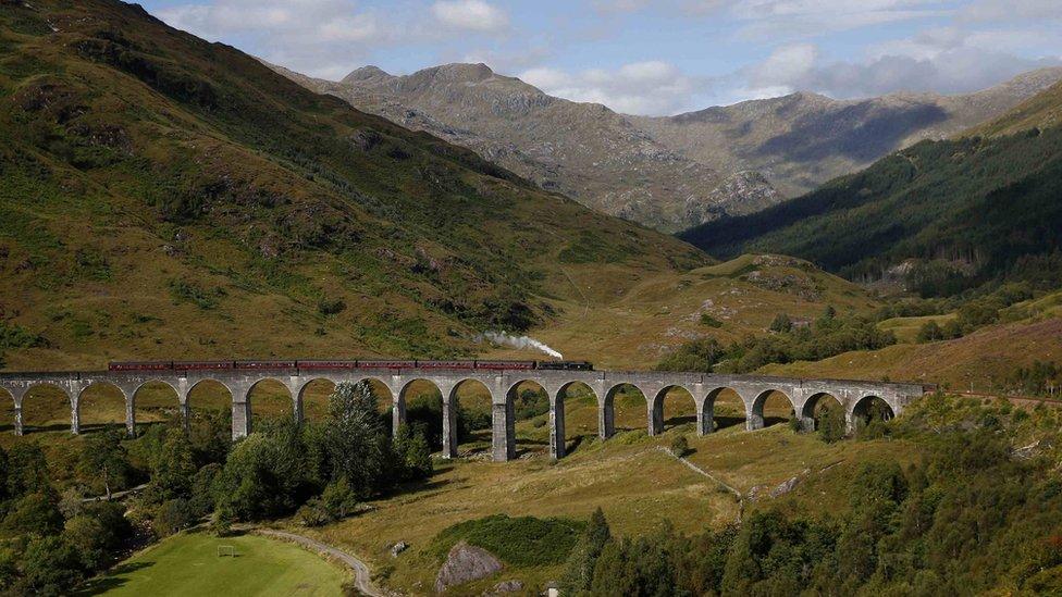 Glenfinnan Viaduct: New car park approved at Harry Potter hotspot