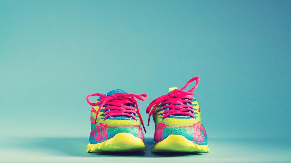 Foto genérica de zapatillas
