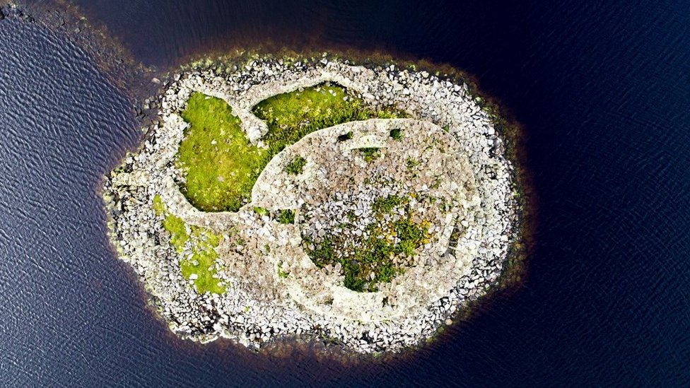 Aerial image of Dun Torcuill
