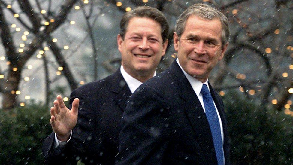 Al Gore y George Bush