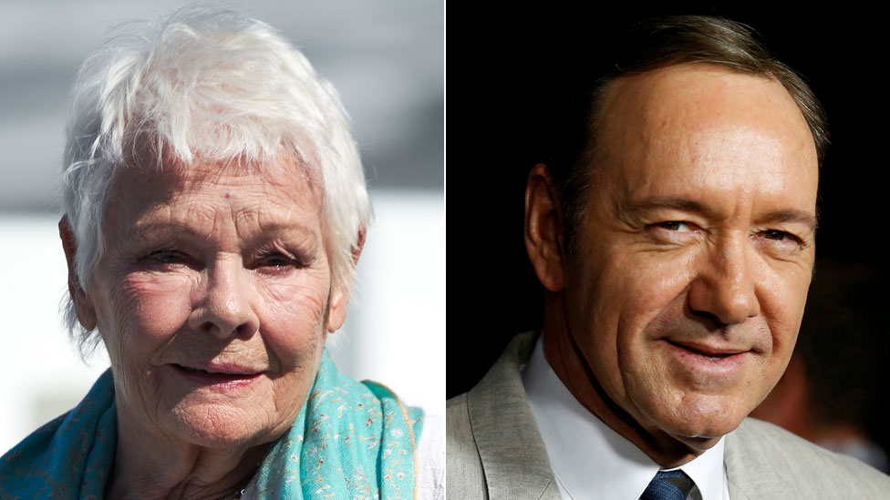 Dame Judi Dench criticises Kevin Spacey's removal from film