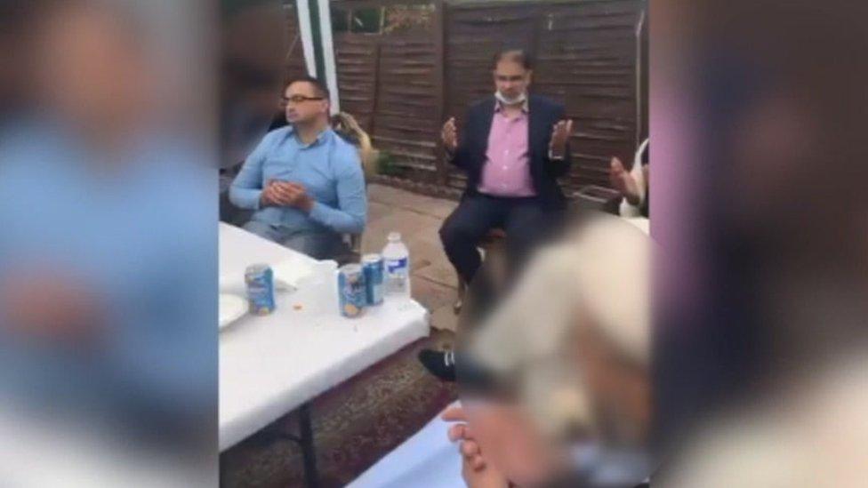 Dr Rizan Butt with Tahir Malik