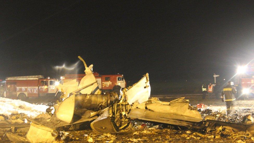 СКР: пилот разбившегося в Казани