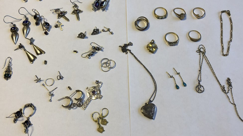 Hundreds claim £2m burglary goods