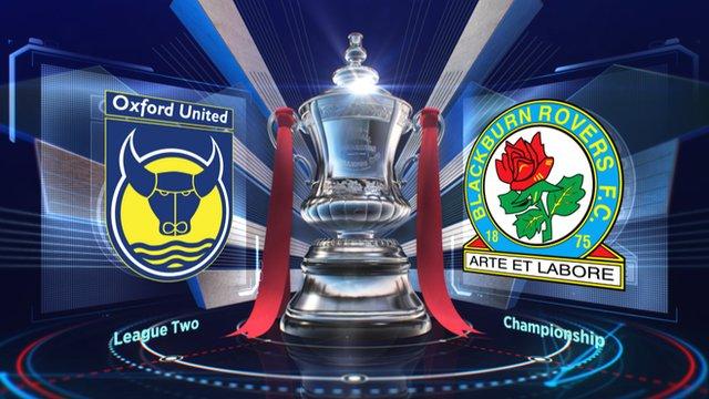 Oxford United 0-3 Blackburn Rovers highlights