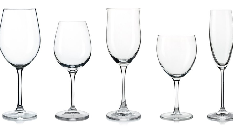 A stock image of some wine glasses