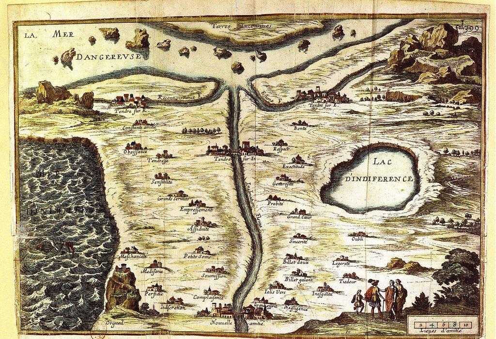 El Mapa de la Ternura.