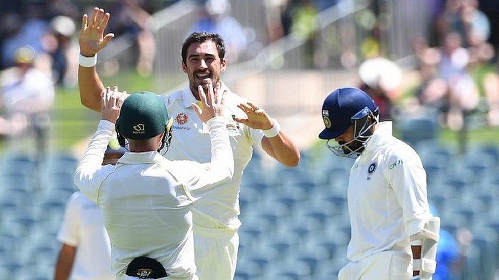 एडिलेड टेस्ट, विराट कोहली, मुरली विजय