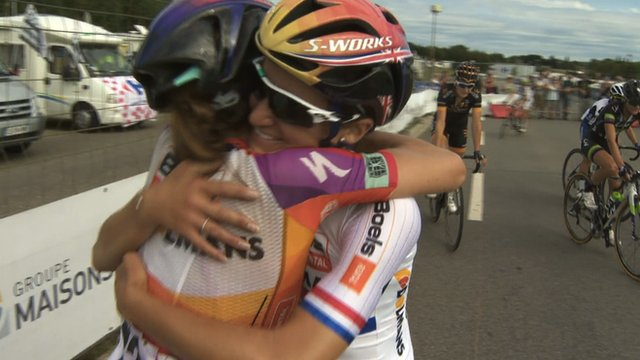Lizzie Armitstead joy at UCI World Cup win