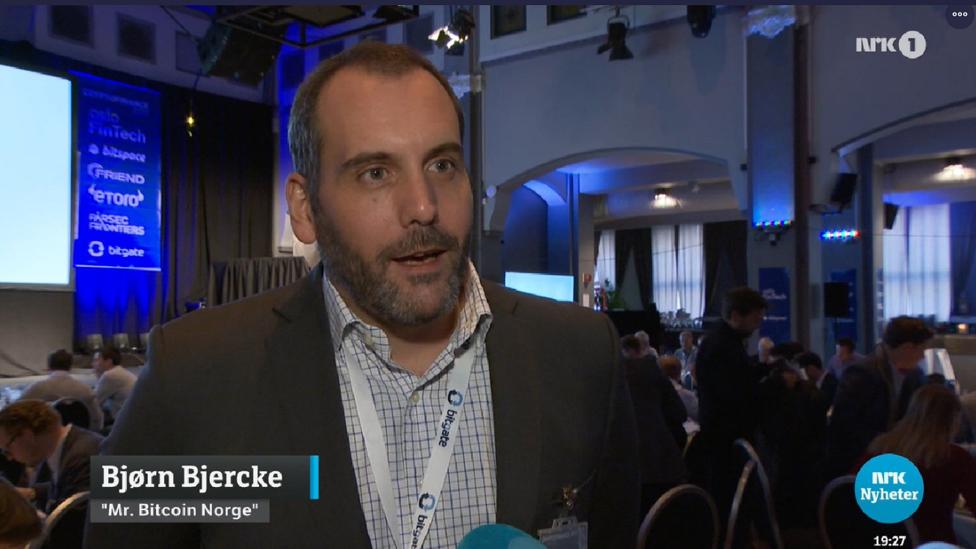 Bjorn Bjerki na norveškoj televiziji