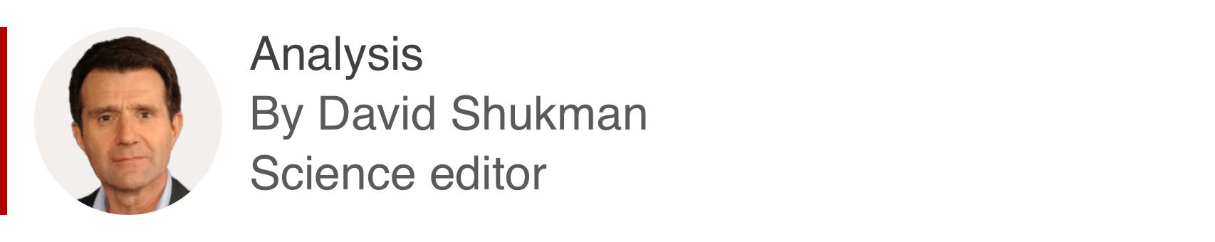 Analysis box by David Shukman, science editor