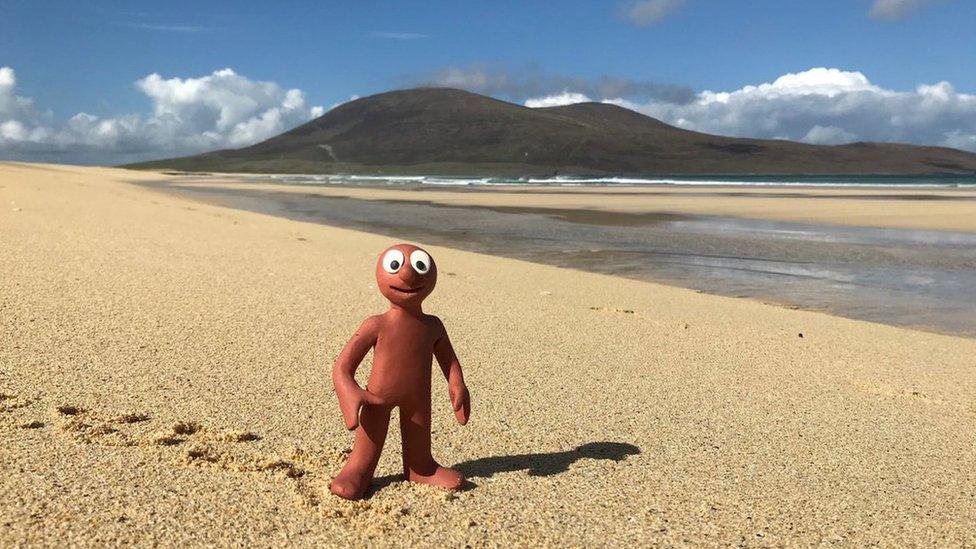 Morph at Scarista, Isle of Harris