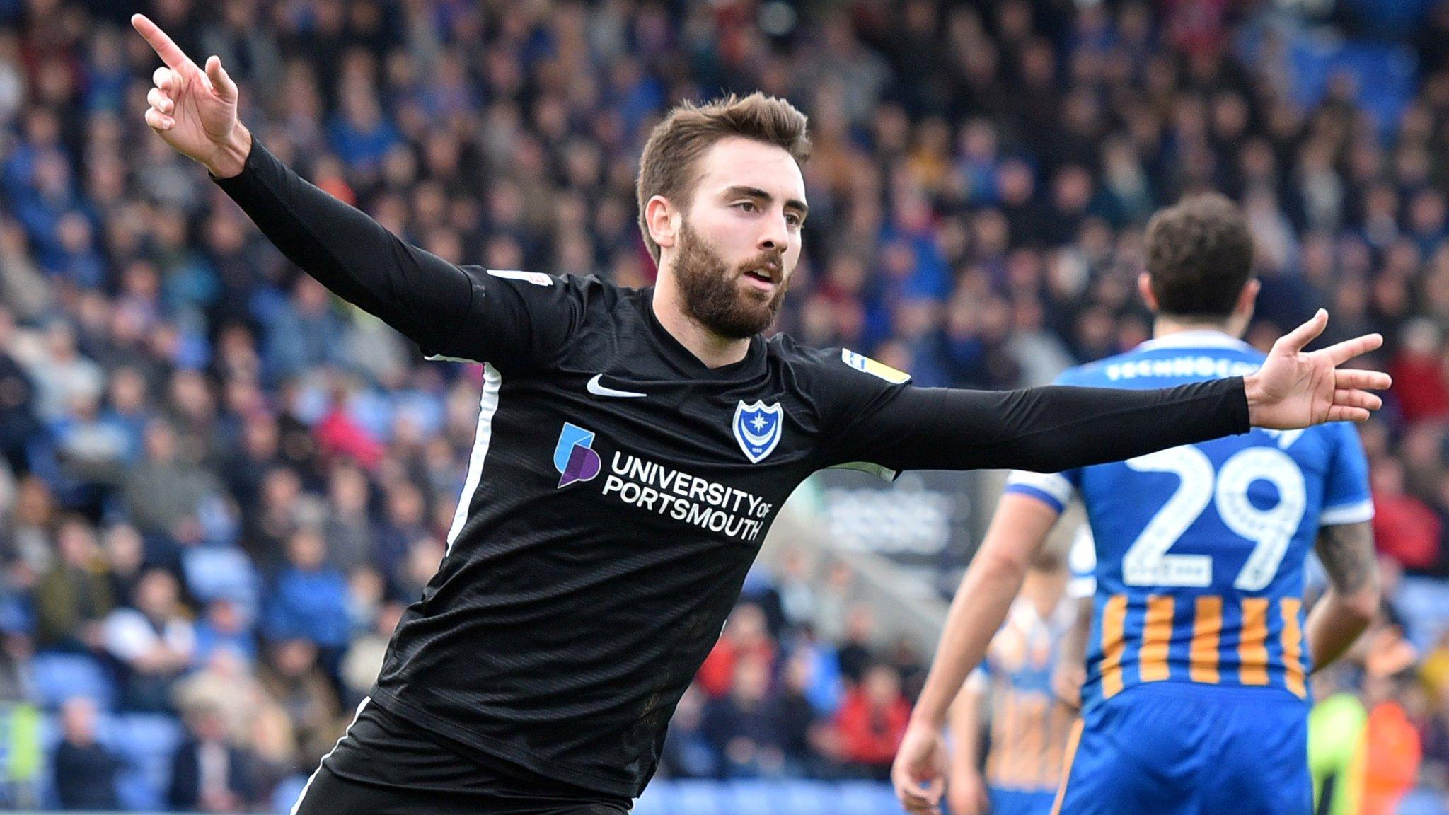 Shrewsbury Town 0-2 Portsmouth