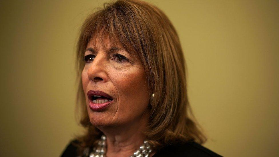 La demócrata Jackie Speier pidió en diciembre de 2017 en el Capitolio que se investiguen las acusaciones por conducta sexual del presidente de Estados Unidos antes de que llegara al cargo.